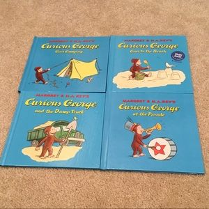 Curious George Books (Bundle of 4)